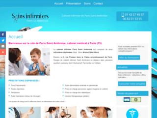 Détails : Cabinet infirmières à domicile à Voltaire-Soins infirmiers Paris Saint Ambroise