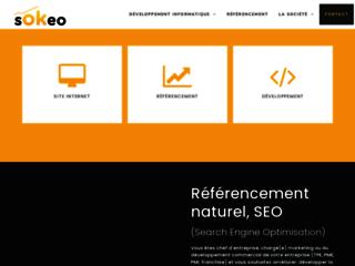 Sokeo, référencement Seo et création de sites internet