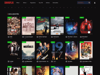 Films et séries en streaming gratuit sur Sokroflix