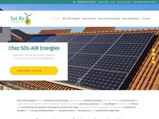 SOL-AIR Energies - installateur photovoltaïque et d'énergies durables