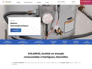 SOLARIUS, Société en énergie renouvelable à Martigues, Marseilles