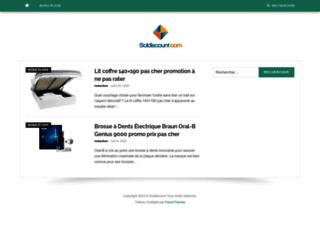 Détails : soldiscount.com blog des codes promo