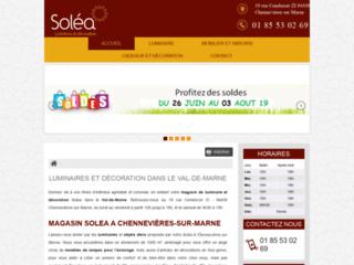 Détails : Votre magasin de luminaire et décoration Soléa dans le Val-de-Marne