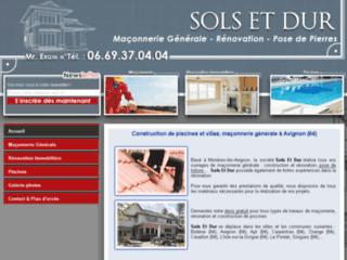Détails : Sols et Dur Vaucluse 84
