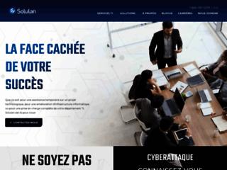 Solulan: Entreprise de gestion de services informatiques