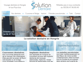 Solution dentaire