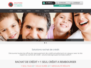 Détails : Solution de rachat de crédit