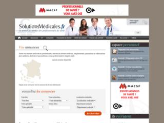 Détails : Solutions Médicales - Annonces médicales et paramédicales, emplois santé