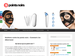 solutions contre les points noirs