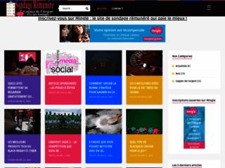 Détails : Meilleur site sur les sondages rémunérés en ligne
