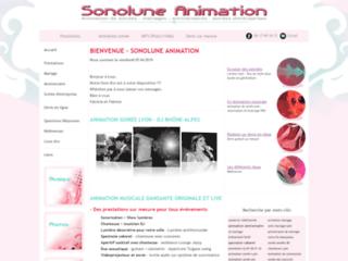 Détails : Sonolune Animation,  animations musicales en Rhône-Alpes