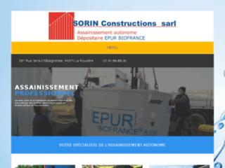 Détails : Assainissement 49 Sorin Constructions