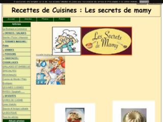 SOS CUISINE : les secrets de Mamy