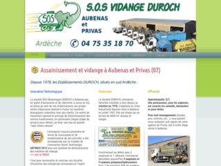 SOS vidange Duroch