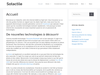 Sotactile : Boutique de tablettes tactiles