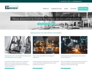 Sous traitance industrielle : Drimex