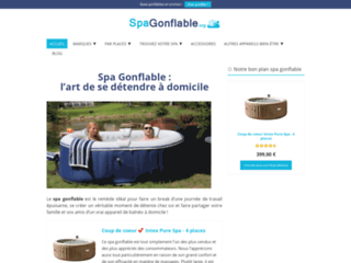 Détails : Spa Gonflable : notre guide complet sur le jacuzzi gonflable  !