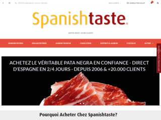 Détails : Spanishtaste : Jambon Bellota