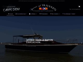 Des promenades en bateau sur le Bassin d'Arcachon