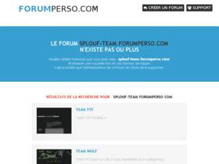 http://splouf-team.forumperso.com/forum