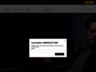 Détails : Spontini: boutique en ligne pour hommes