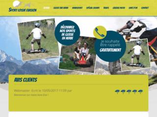 Détails : Glisse sur herbe sur les bords du lac des Hermines (63)