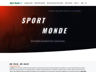 Détails : Sport dans le Monde, tout ce qu'il faut savoir ! - Sport Monde