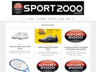 Détails : Sport 2000 Nutrition sportive