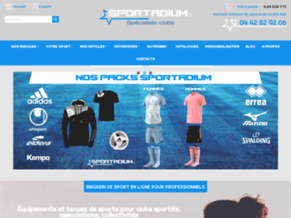 Sportadium | Equipements clubs