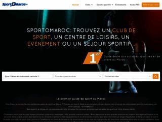 Détails : Le premier guide de sport au Maroc