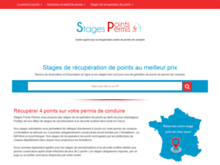 Détails : Stage récupération de points du permis de conduire