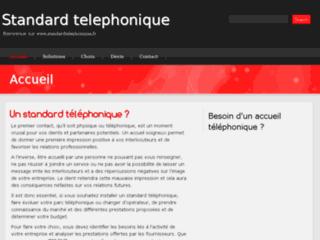 Les avantages des standards téléphoniques