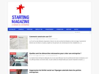 Starting Mag, le magazine des entreprises