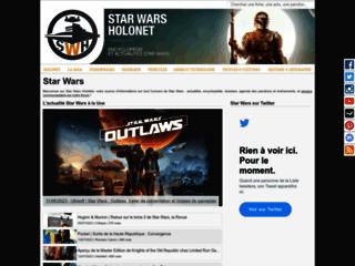Détails : Star Wars HoloNet