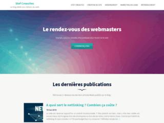 Détails : creation de sites internet stef-creasites - votre site personnalise