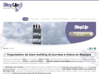 Step-Up, organisateur d'événements corporatifs en Wallonie