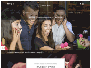 Magicien close-up et mentaliste sur Paris