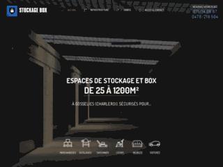 Stockage Box, spécialiste des solutions de stockage