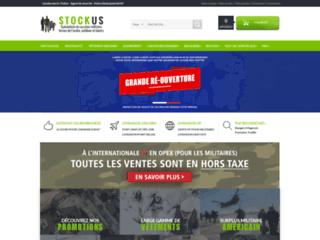 Détails : Stock US - Equipement airsoft et paintball