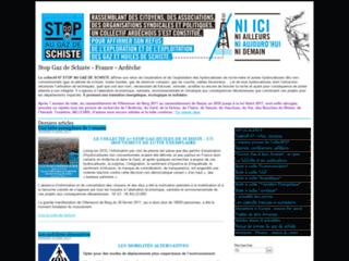 Collectif 07 - STOP AU GAZ DE SCHISTE