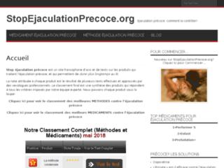 Stop Ejaculation Precoce