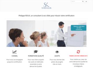 Détails : Strategik : ISO 9001