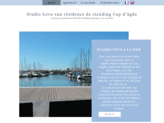 Détails : location vacances joli studio vue mer piscine