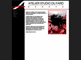 Détails : Atelier Studio du Fard Genève