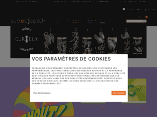 Sudeclope.fr, vente en ligne de cigarettes électroniques