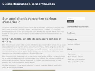 Détails : Suisse romande, contacts et rencontres