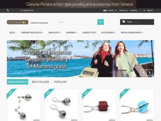 Bijoux et verre de Murano