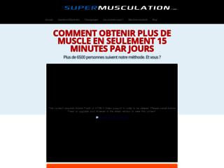 Détails : SuperMusculation.com : faites de la musculation chez vous