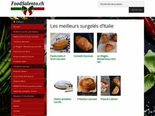Vente des surgelés Salento en Suisse
