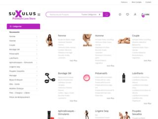 Boutique en ligne adulte suxulus